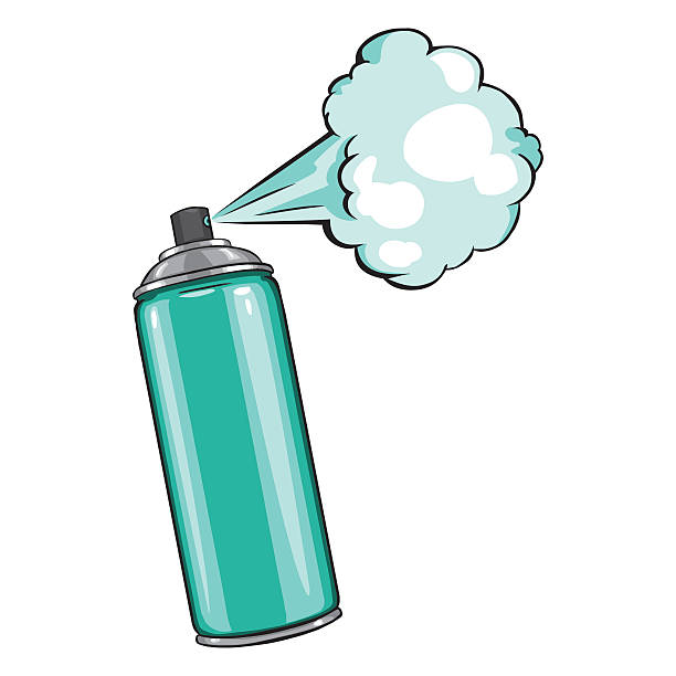 Royalty Free Aerosol Can Clip Art, Vector Images ...