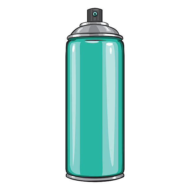 Royalty Free Spray Paint Cans Clip Art, Vector Images ...