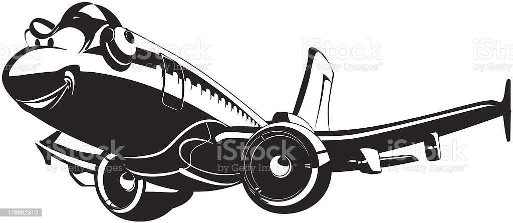 Vector Cartoon Airliner royalty-free vector cartoon airliner stock vector art & more images of air vehicle