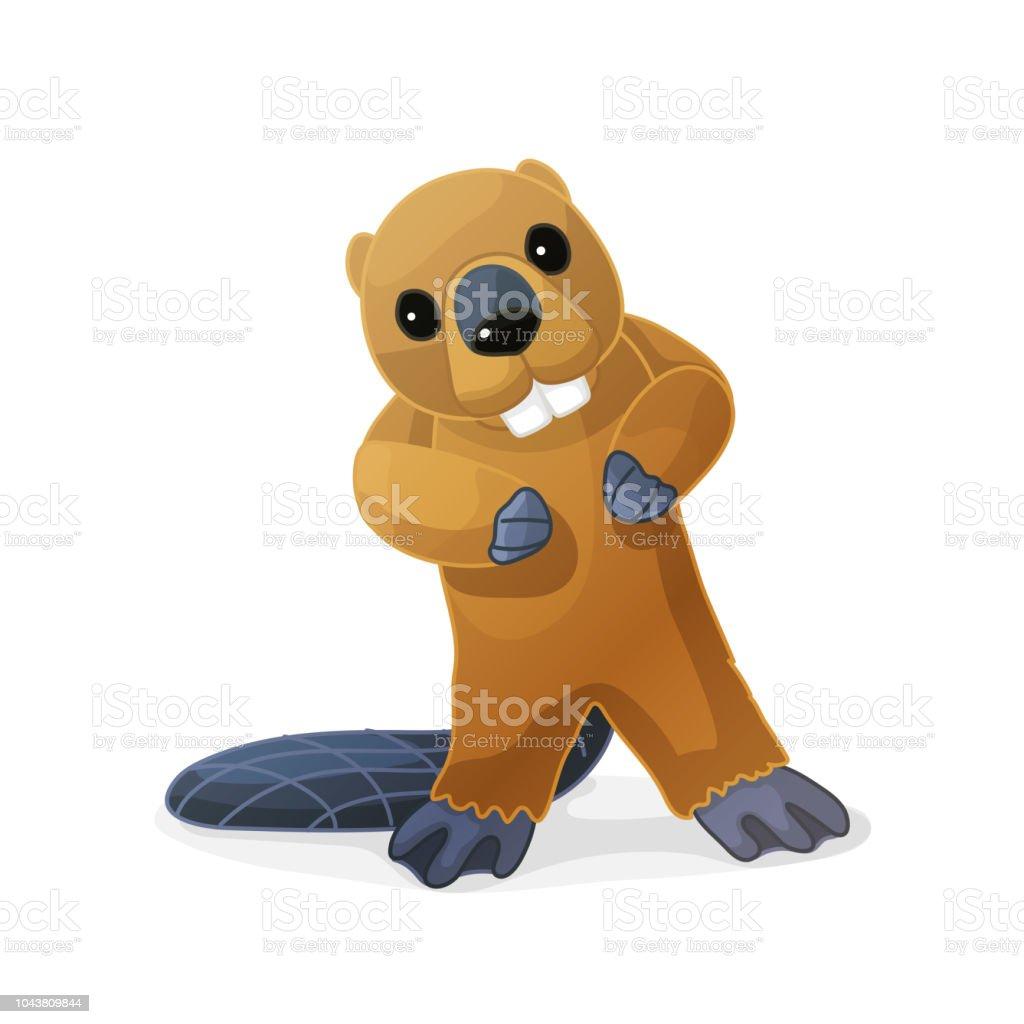 vector cartoon animal clip art vector art illustration