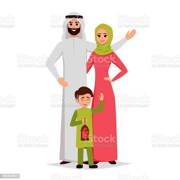 Vector cartoon arab family characters sethappy saudi father mother vector id960809824?b=1&k=6&m=960809824&s=612x612&h=woxbnp30jh4lvftmaqy0si3s4nxnaaot8nec9ftrdhu=