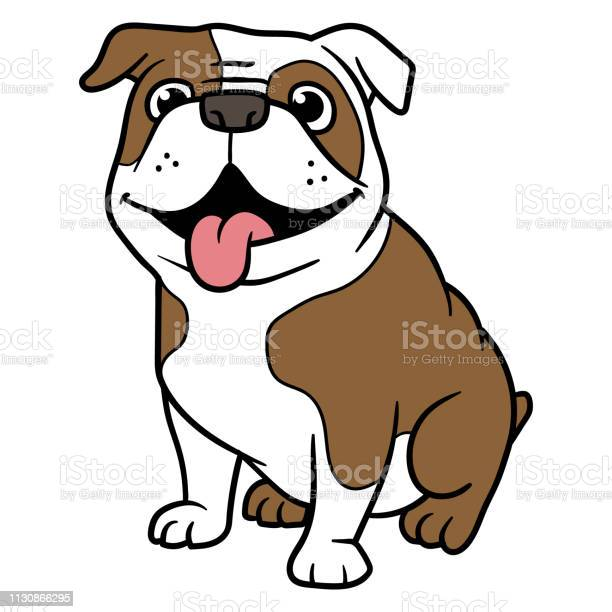 Vector Cartoon Bulldog Stock Illustration Download Image Now Istock