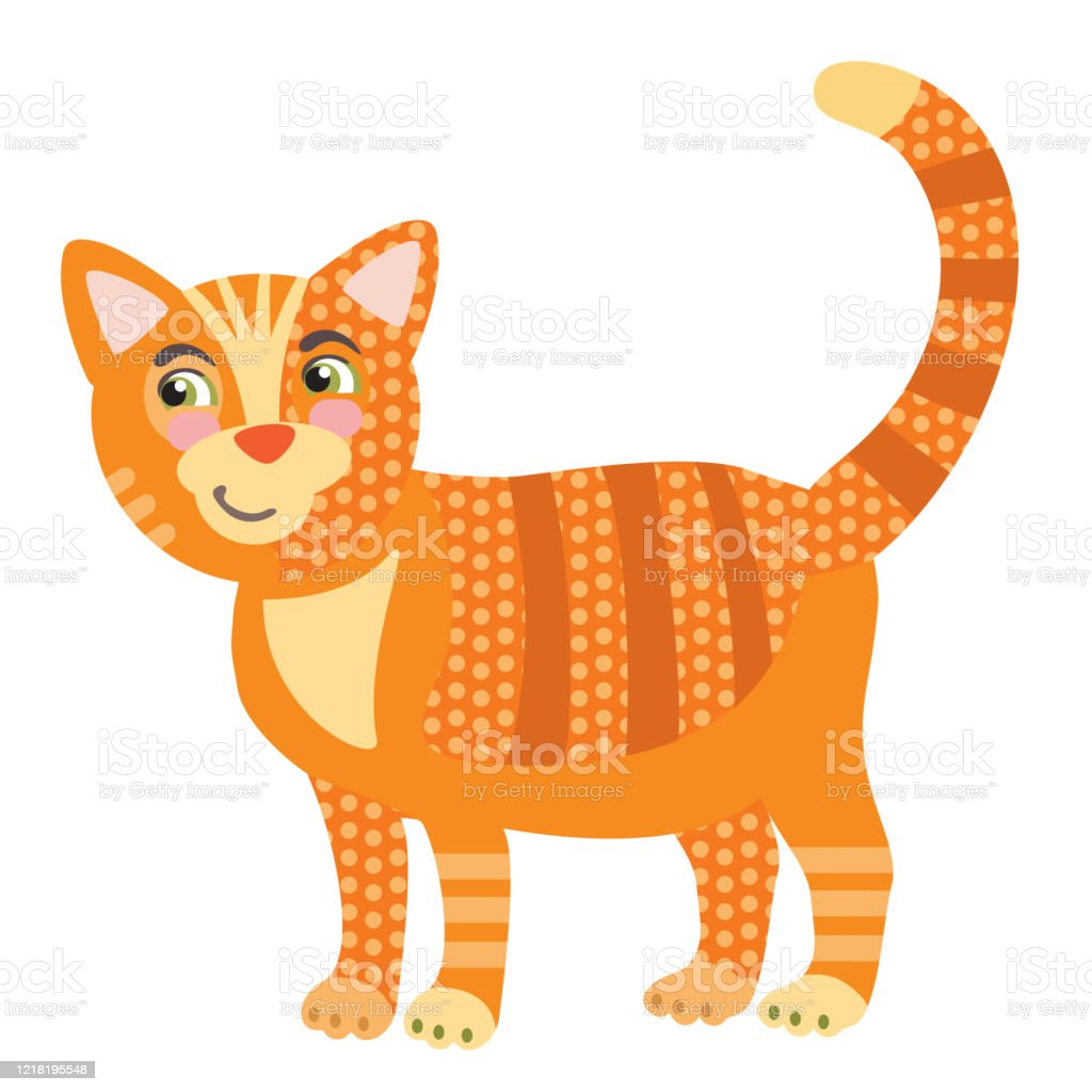 Vector Cartoon Cat Stock Illustration Download Image Now Istock
