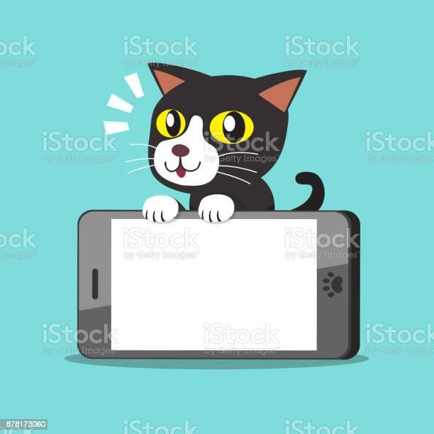 Vector cartoon character cat and big smartphone vector id878173060?b=1&k=6&m=878173060&s=612x612&h=jia4rjytnoxizka9ddqrvhrhlmommxarnlm1csysjeo=