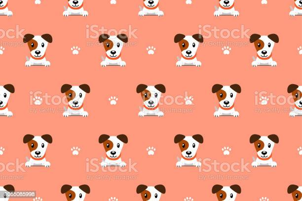 Vector cartoon character jack russell terrier dog seamless pattern vector id1055085998?b=1&k=6&m=1055085998&s=612x612&h=8jzn5pm fx9u2hmgmmiwgh 75v6f2buyxucpxtbtwb8=
