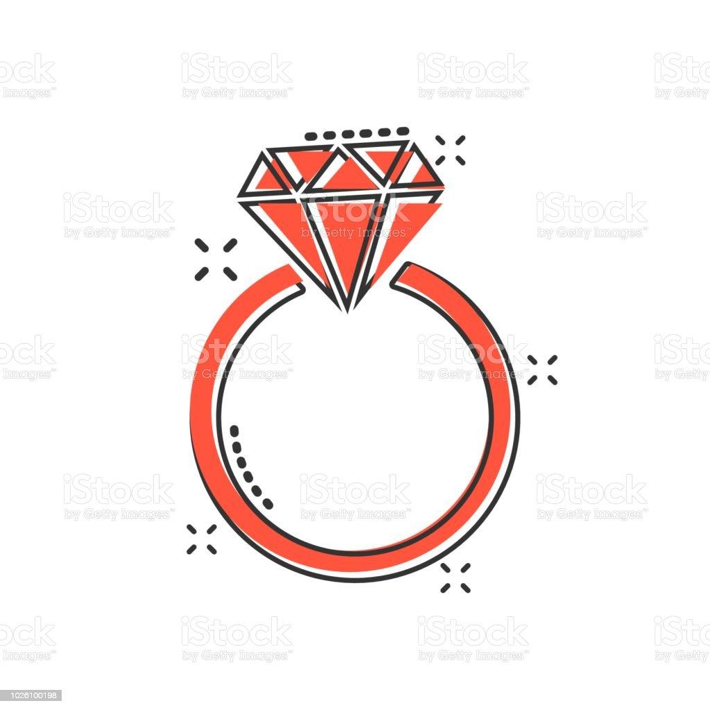 picto bague diamant