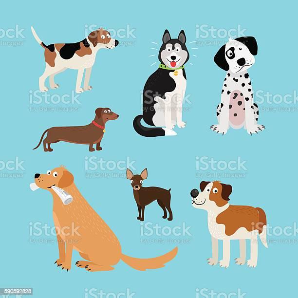 Vector cartoon happy dogs set vector id590592828?b=1&k=6&m=590592828&s=612x612&h=h2sccchk12kqqlf5dvd8ynafgf3j 9j9aesicekxbwe=