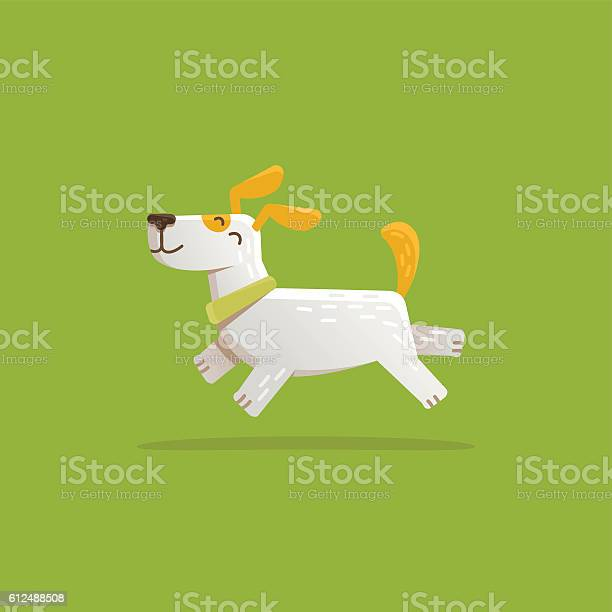 Vector cartoon illustration funny and friendly dog vector id612488508?b=1&k=6&m=612488508&s=612x612&h=cwsb1doyeexq81fdeeabegmx edaortt4degind1muo=