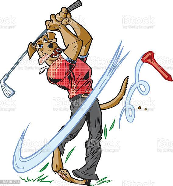 Vector cartoon mascot dog swinging golf club vector id595151716?b=1&k=6&m=595151716&s=612x612&h=m8jnj7gqcn1antejdhtlac5u ct0d3l8vbzg1icj6xo=