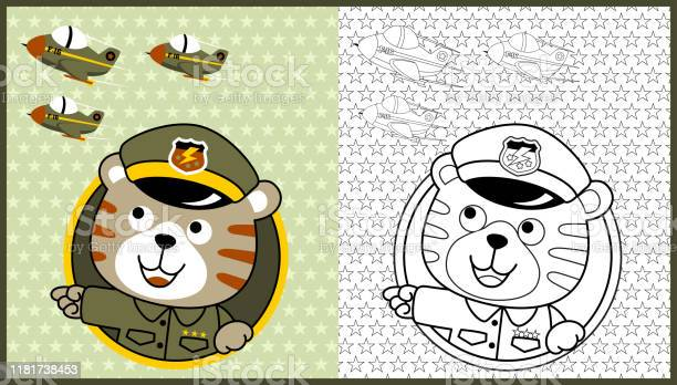 Vector cartoon of animal soldier with jets on stars background book vector id1181738453?b=1&k=6&m=1181738453&s=612x612&h=qsgmoeorogjo49oavxjsggwe8 ourrjnwq6f7vkektg=