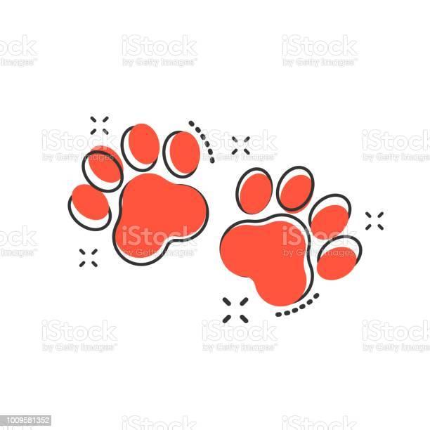 Vector cartoon paw print icon in comic style dog or cat pawprint sign vector id1009581352?b=1&k=6&m=1009581352&s=612x612&h=zyszfrzxxitzzjsmmxaj vd8beimym5jm68aaeww0fa=