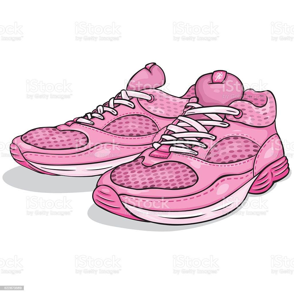 online store 5a2e2 8d0d6 Vektorcomic Pinke Schuhe Stock Vektor Art und mehr Bilder ...