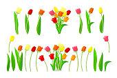 vector cartoon plants clip art