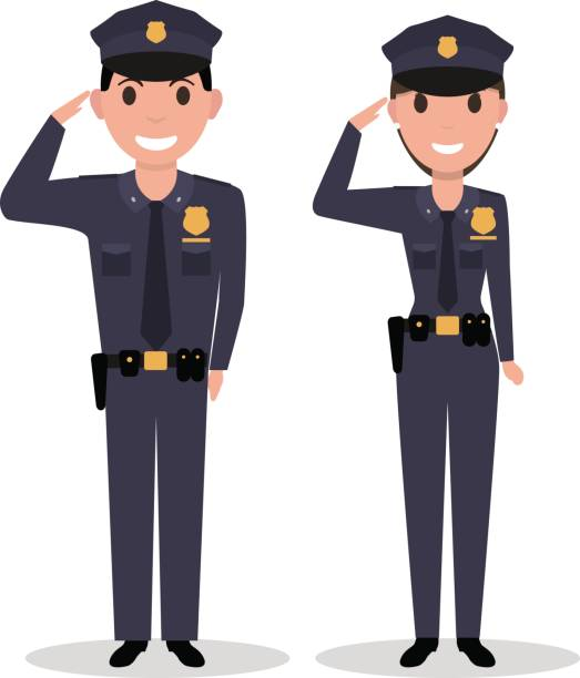 Best Policewoman Illustrations, Royalty-Free Vector ...