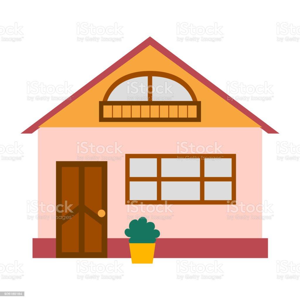 Vector Cartoon Rent Vacation House Stock Vector Art & More