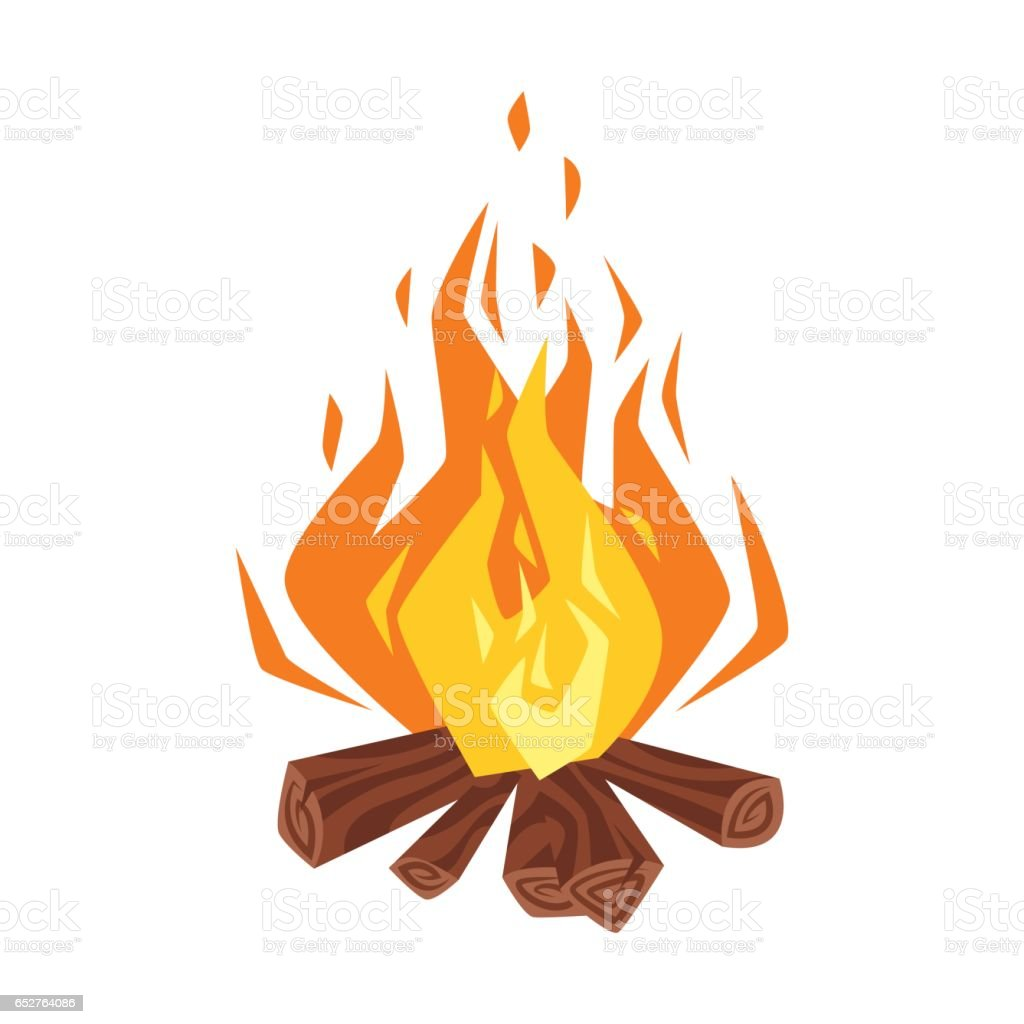 Bonfire Clip Art Vector Images Amp Illustrations Istock