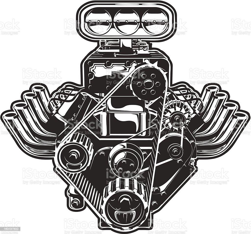 Vetores De Vetor Desenho Turbo Motor E Mais Imagens De Arte Istock