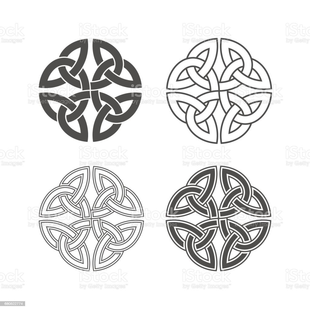 Vector celtic knot. Ethnic ornament. vector art illustration