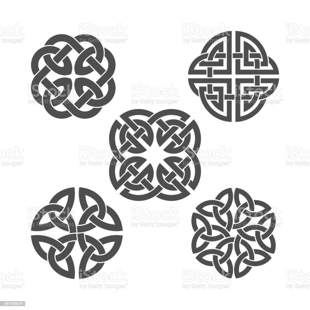 Vector celtic knot. Ethnic ornament.