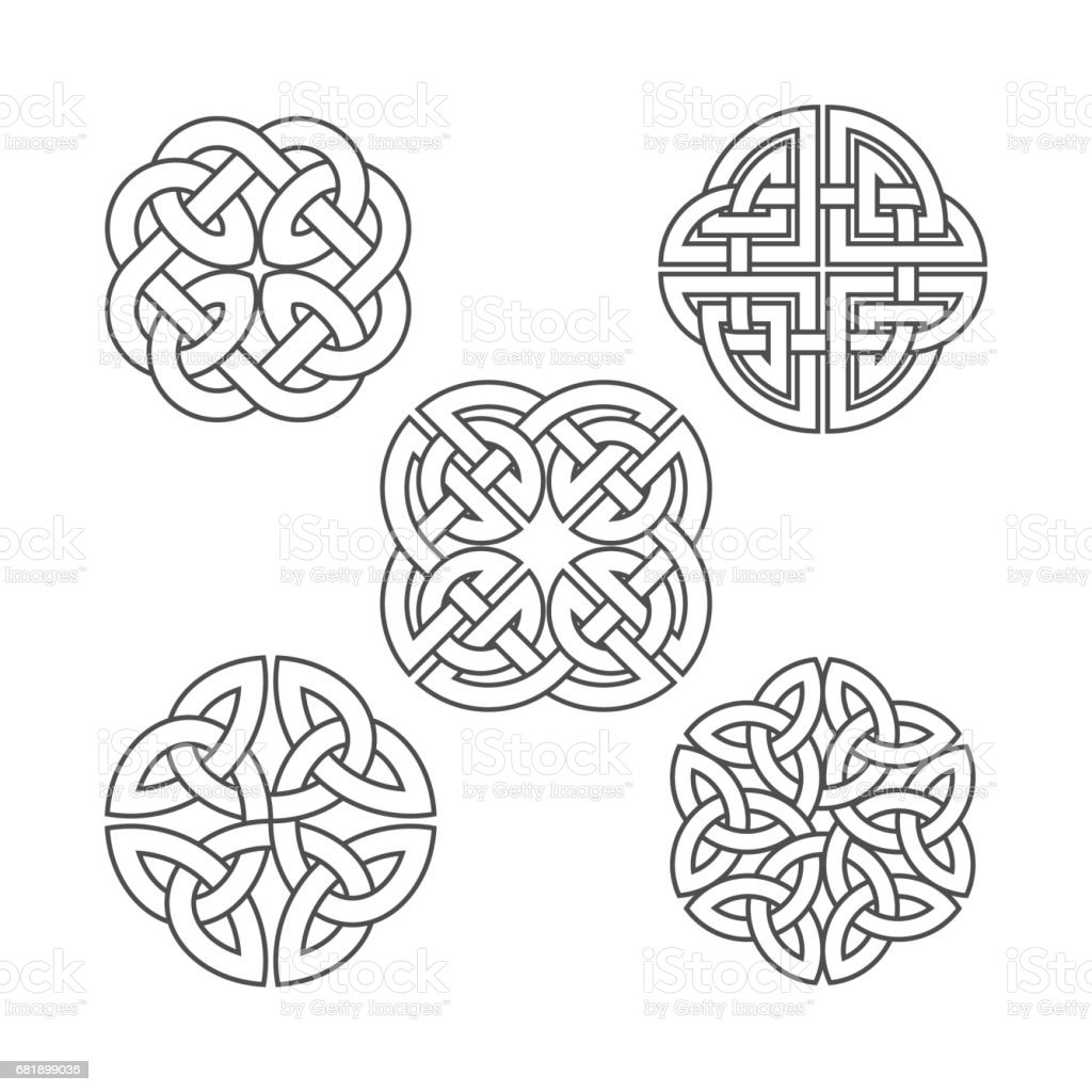 Vector Celtic Knot Ethnic Ornament Stock Vector Art & More Images of ...