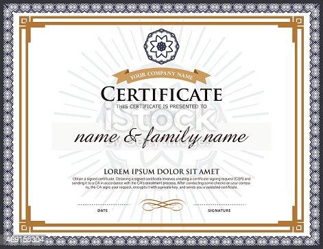 Vector certificate template stock vector art more images of 2015 vector certificate template stock vector art more images of 2015 469155304 istock yadclub Choice Image