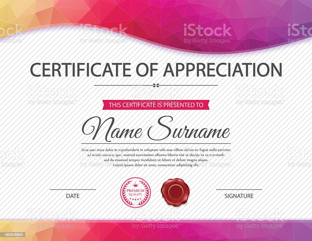 Vector certificate template stock vector art more images of 2015 vector certificate template royalty free vector certificate template stock vector art amp more yelopaper Image collections