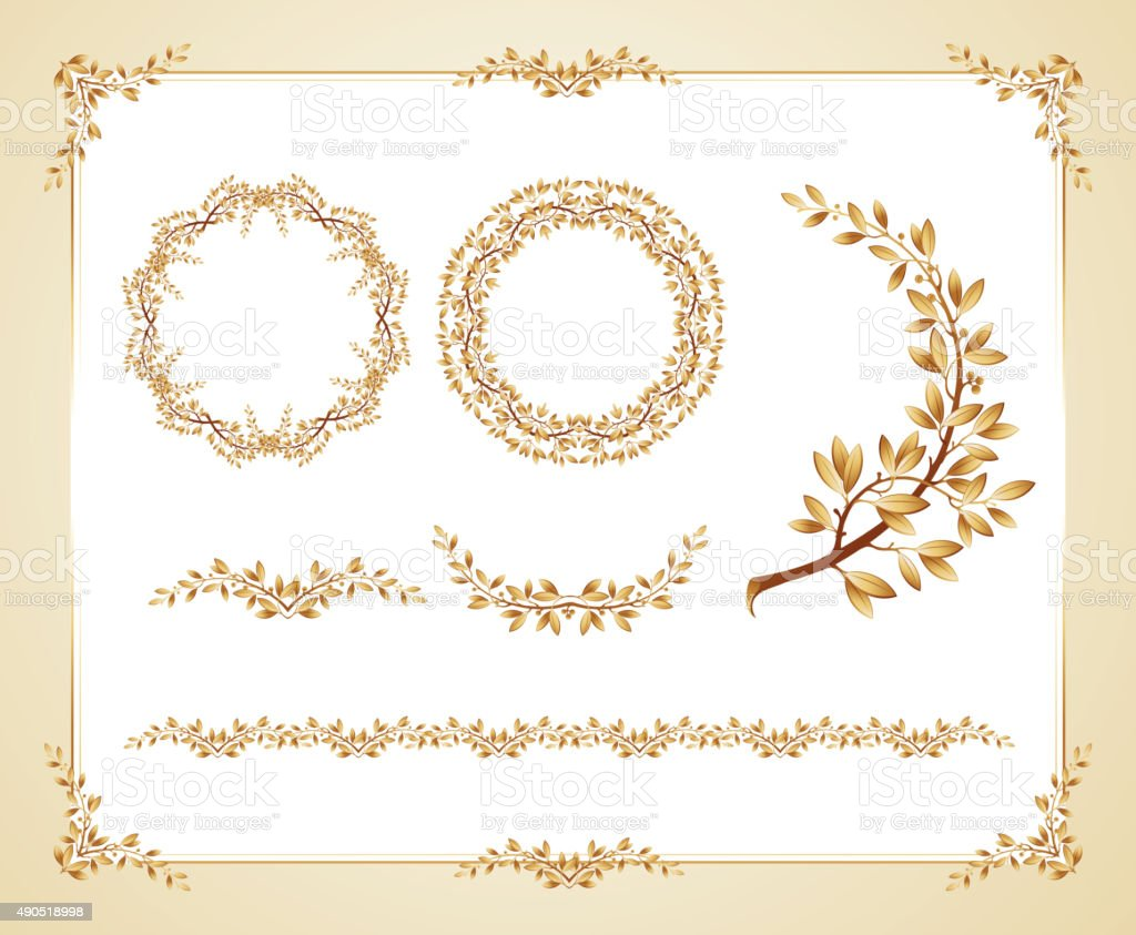Vector certificate template stock vector art 490518998 istock vector certificate template royalty free stock vector art xflitez Gallery