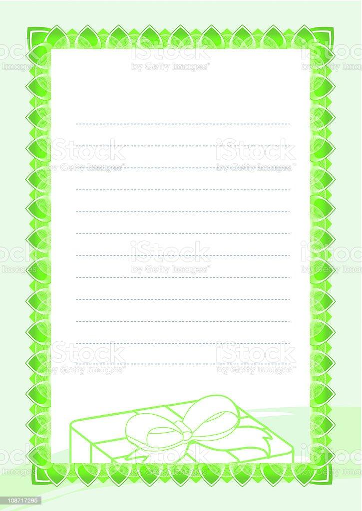 Vector Certificate royalty-free stock vector art