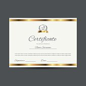 Vector certificate  (design template)