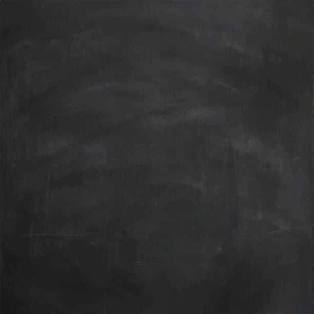 vector chalkboard texture - классная доска stock illustrations
