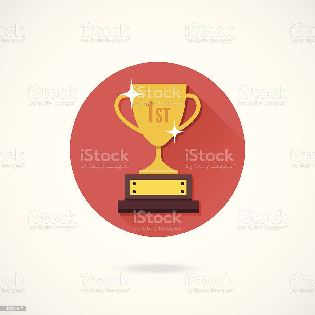 Vector Champions Cup Icon royalty-free stock vector art