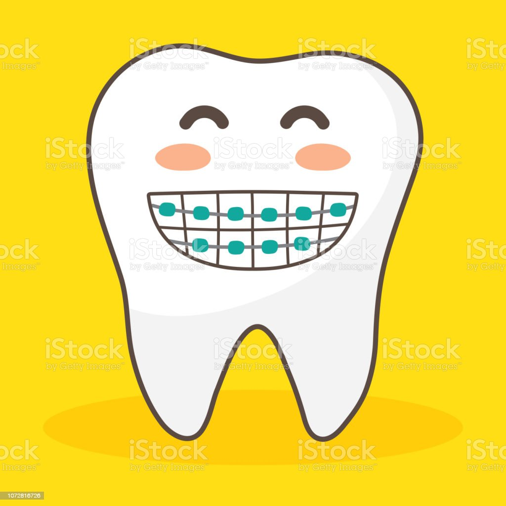 Vector Character Happy And Funny Teeth Set Illustration Doodle Drawing Cute Design Tooth Stock Illustration Download Image Now Istock