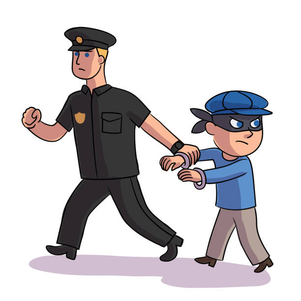 55 teen arrest illustrations & clip art - istock  istock