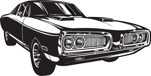 Vector Charger: Black and White
