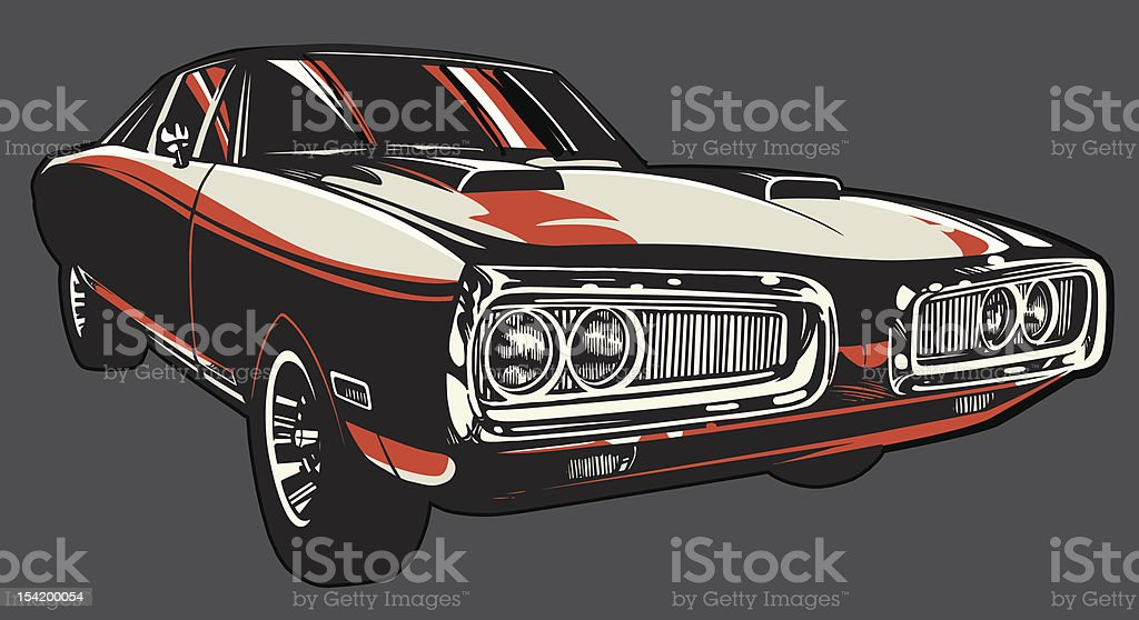 Vector Charger: Color Version vector art illustration