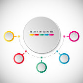 For graph, pie chart, workflow layout, cycling diagram, brochure, report, presentation, web design.