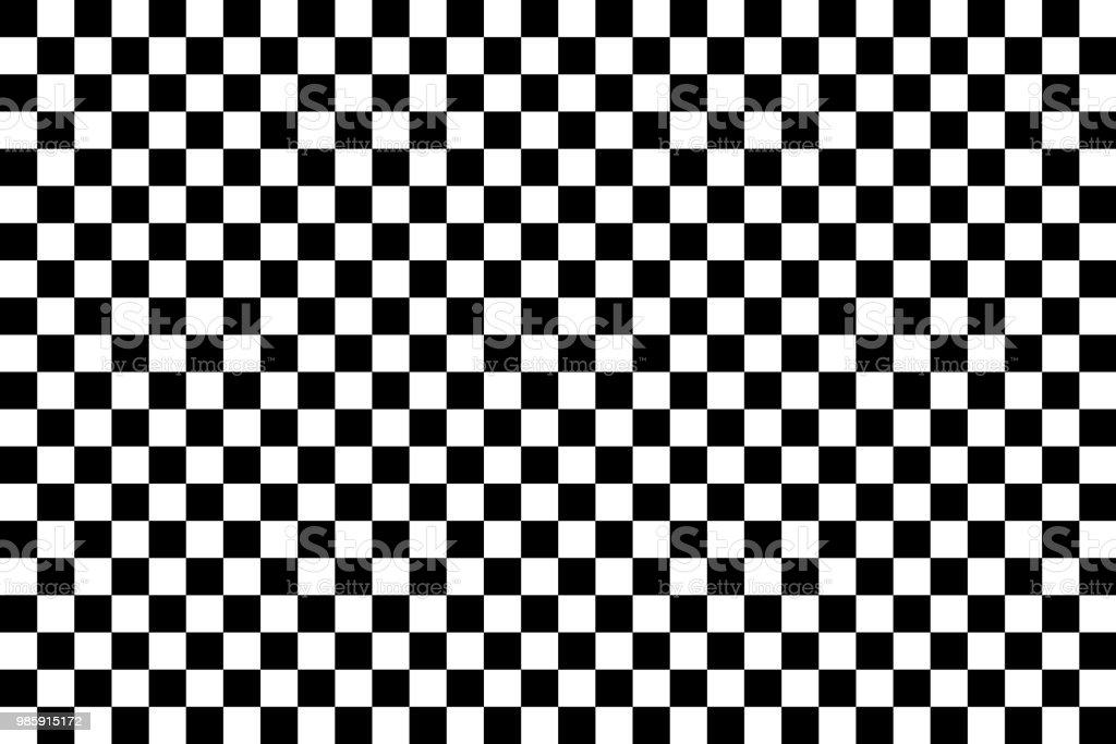 Vector checker chess abstract seamless background - Royalty-free Abstrato arte vetorial