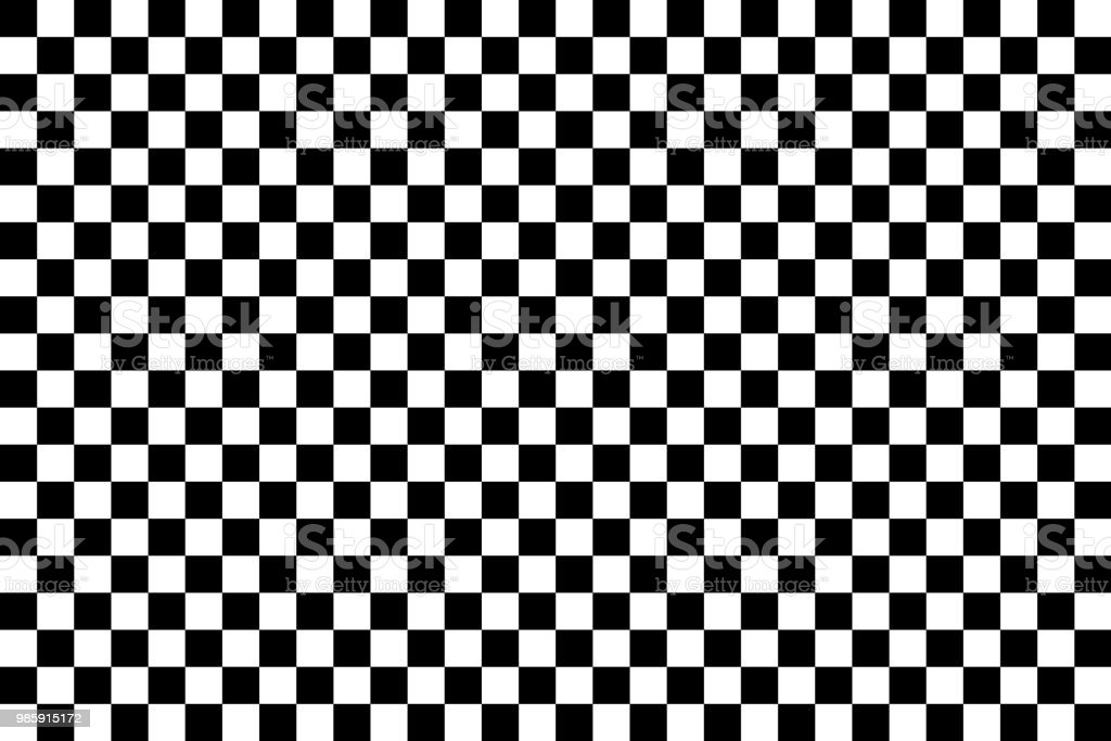 Vector checker chess abstract seamless background vector art illustration