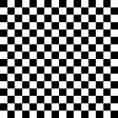 Vector checker chess square abstract background. Black and White Squares