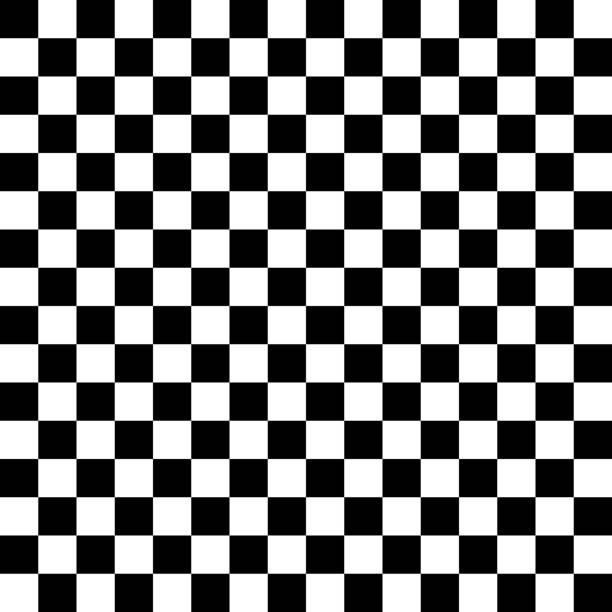vector checker chess square abstract background - checked pattern stock illustrations
