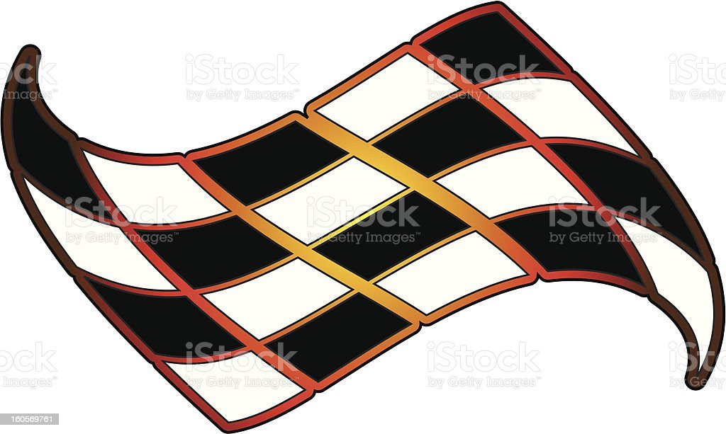 Vector Checkered Flag royalty-free vector checkered flag stock vector art & more images of checked pattern