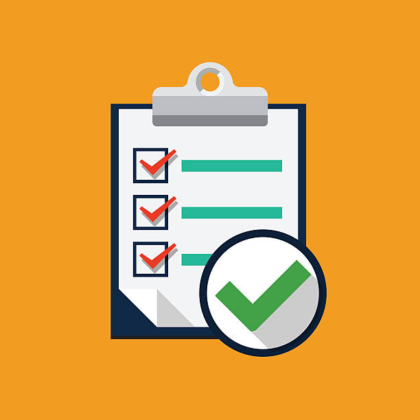 Royalty Free Checklist Clip Art, Vector Images ...