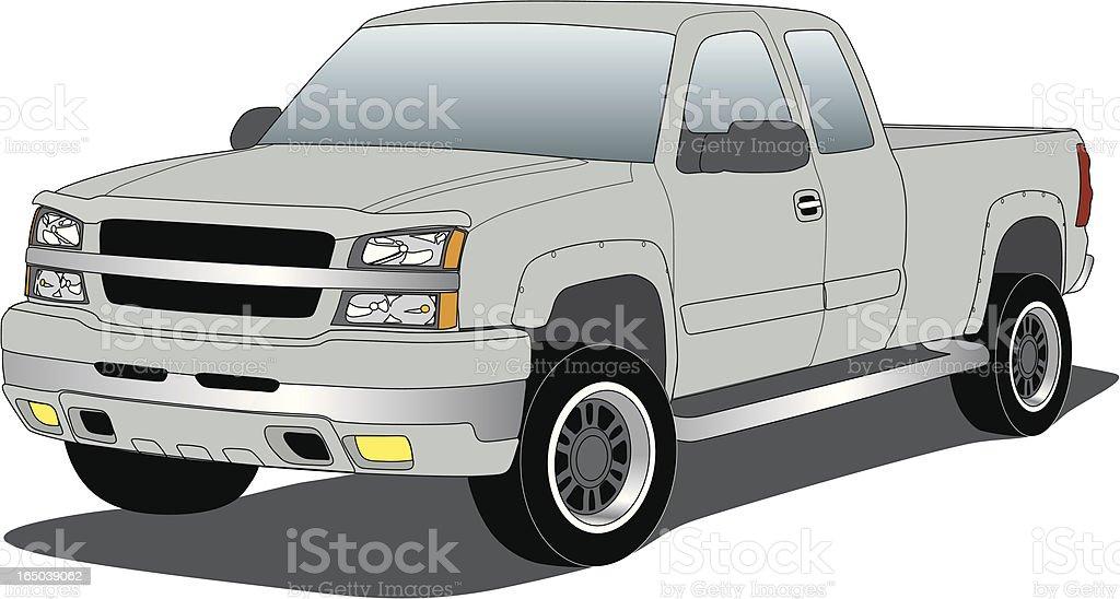 Vector Chevrolet Truck vector art illustration
