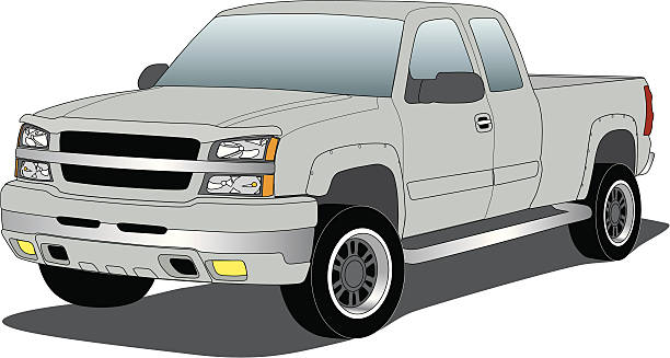 Royalty Free Chevy Truck Clip Art, Vector Images ...
