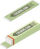 istock Vector Chewing Gum 165030610