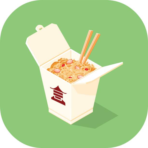 Royalty Free Chinese Takeout Clip Art, Vector Images ... (612 x 612 Pixel)