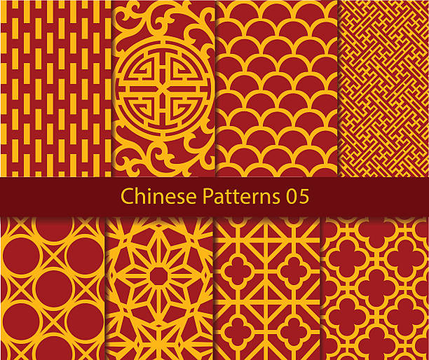 Royalty Free Chinese Pattern Clip Art, Vector Images ...