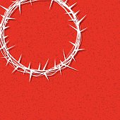 Vector Christ Crown of Thorns Illustration