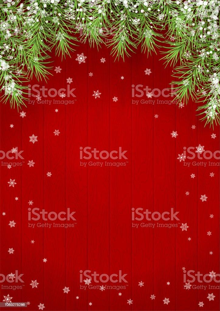 Vector Kerstmis achtergrondvectorkunst illustratie