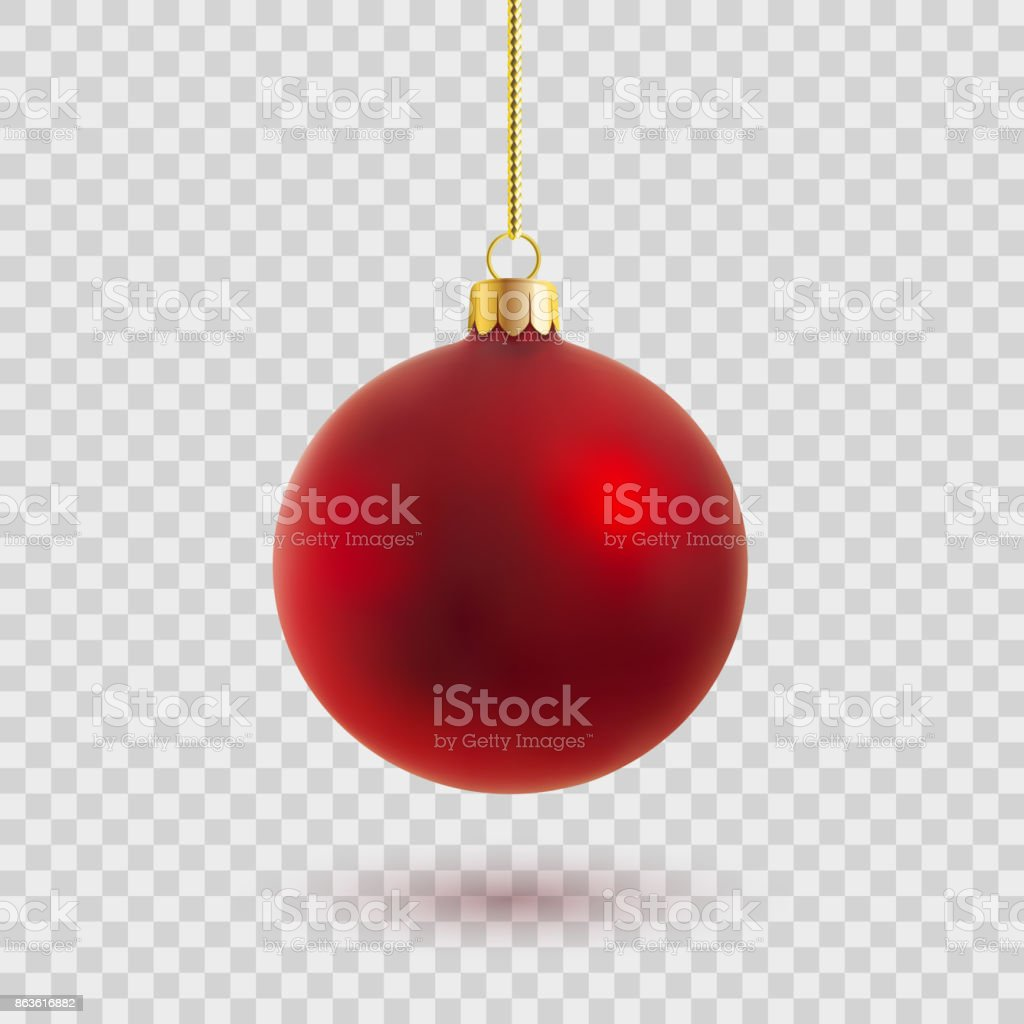 vector christmas ball vector art illustration